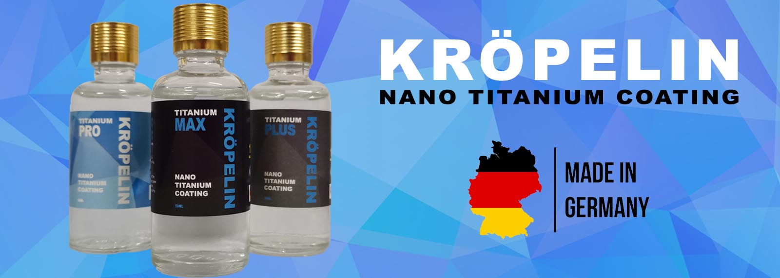 KROPELIN Nano-Titanium Car Coating