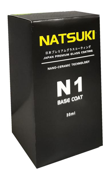 Natsuki Japan Glass Coating